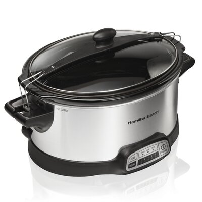 Hamilton Beach 6 Qt. Stay or Go Slow Cooker