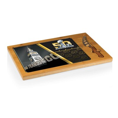 Super Bowl 50 Icon Cutting Board by Picnic Time