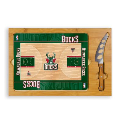 Picnic Time NBA Icon Cutting Cheese Tray