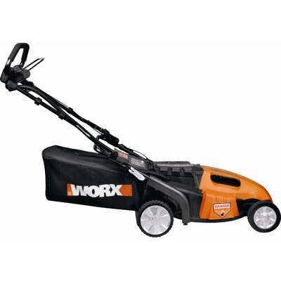 Worx 3-in-1 Cordless Pacesetter Lawn Mower with Intellicut