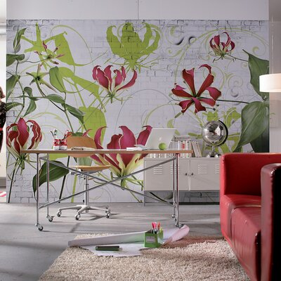 Brewster home fashions komar gloriosa wall mural reviews for Brewster home fashions wall mural