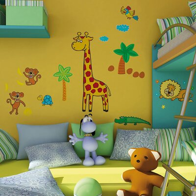 Euro Giraffe Wall Decal by Brewster Home Fashions