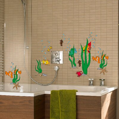 Euro Underwater World Wall Decal by Brewster Home Fashions