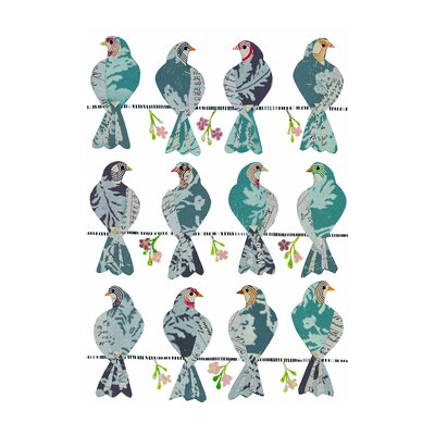 Brewster Home Fashions Euro Freestyle Doves Wall Decal