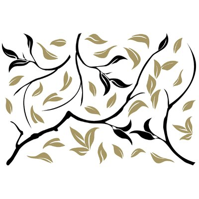 Euro Modern Tree Wall Decal by Brewster Home Fashions