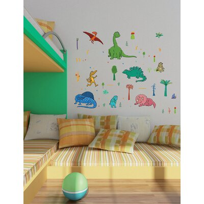 Brewster Home Fashions Euro Dinosaurs Wall Decal