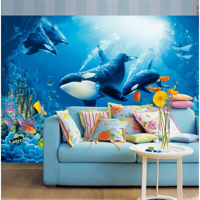 Ideal Decor Delight of Life Wall Mural by Brewster Home Fashions