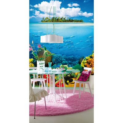 Ideal Decor Treasure Island Wall Mural by Brewster Home Fashions