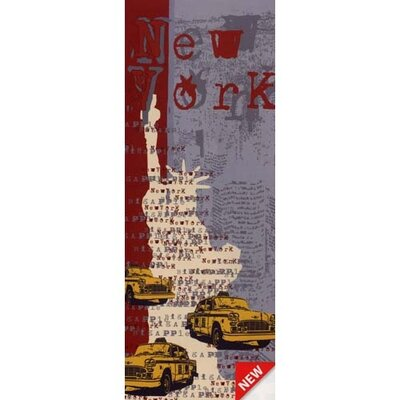 Brewster Home Fashions Euro New York Panel Wall Mural
