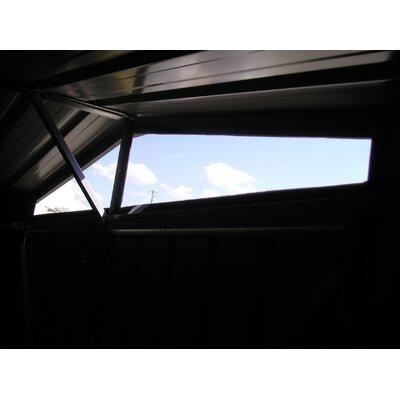 Absco DayLite 10 Ft. W x 7 Ft. D Steel Garden Shed