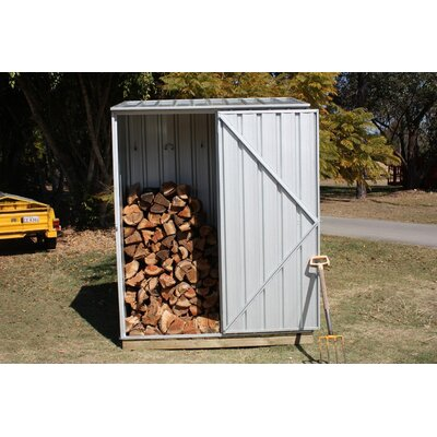 Absco Spacesaver 5 Ft. W x 3 Ft. D Steel Tool Shed