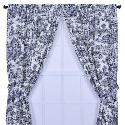 Ellis Curtain Victoria Park Toile Tailored Curtain Panels Reviews Wayfair