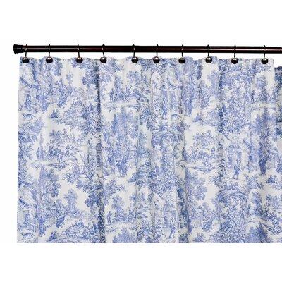 Ellis Curtain Victoria Park Cotton Toile Shower Curtain Reviews Wayfair