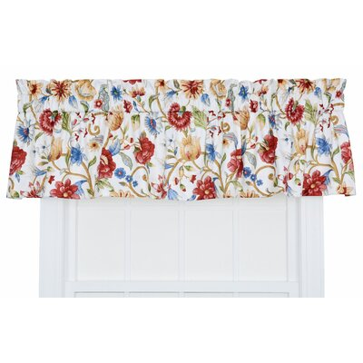 "Cornwall 80"" Jacobean Floral Tailored Valance Product Photo"