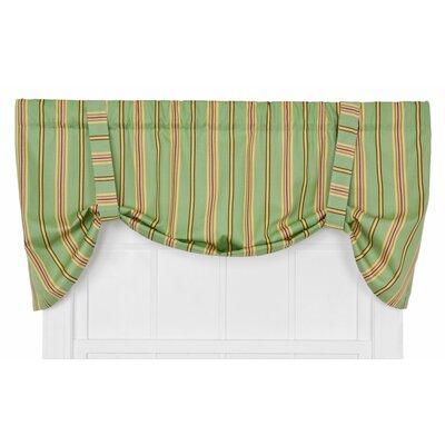Warwick Medium Scale Stripe Tie-Up Curtain Valance Product Photo