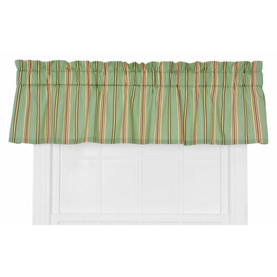 Warwick Medium Scale Stripe Tailored Curtain Valance Product Photo