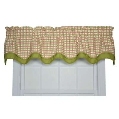 "Charlestown Check Bradford 70"" Curtain Valance Product Photo"