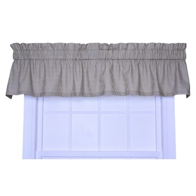 "Logan Gingham Check Print 70"" Curtain Valance Product Photo"