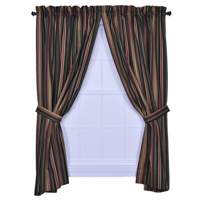 Ellis Curtain Montego Stripe Tailored Curtain Panels