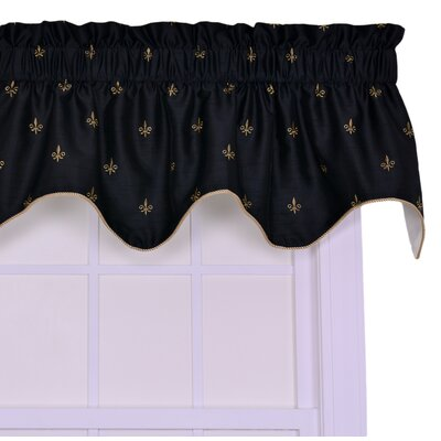 "Fleur Di Lis Filler 50"" Curtain Valance Product Photo"