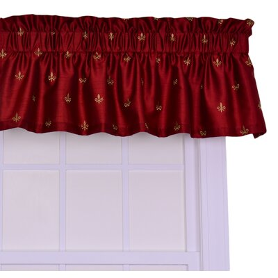 "Fleur Di Lis 50"" Curtain Valance Product Photo"