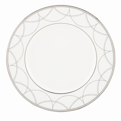 """Lenox Iced Pirouette 9"""" Accent Plate"""