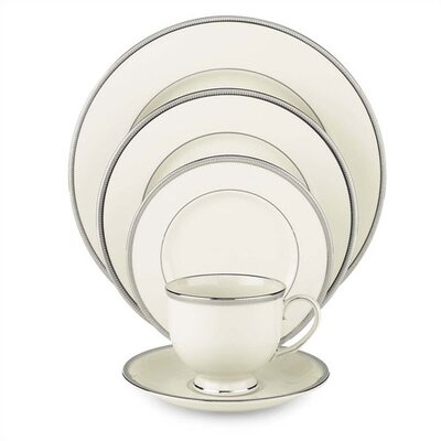 Tuxedo Platinum Dinnerware Collection by Lenox