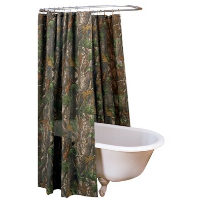 Cotton Shower Curtain by Realtree