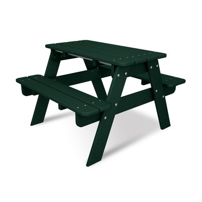Kids Rectangular Picnic Table by POLYWOOD®