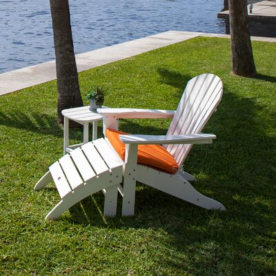 South Beach 3 Piece Adirondack Seating Group by POLYWOOD®