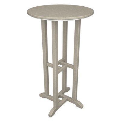 POLYWOOD® Traditional Round Bar Table