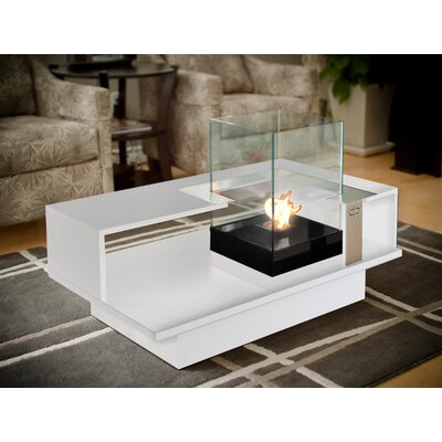 Decorpro Level Compact Tabletop Bio Ethanol Fireplace