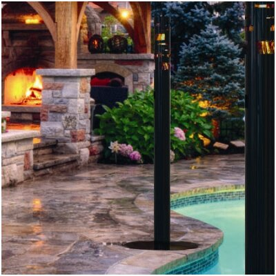 Decorpro Torch Series Skyline Steel Bio Ethanol Fire Column