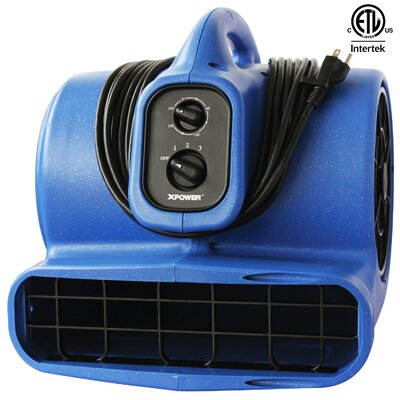 1/3 HP Air Mover and Pet Dryer by XPOWER