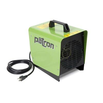 Patron E-Series 1,500 Watt Portable Electric Fan Utility Heater