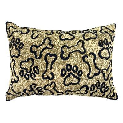 PB Paws & Co.Puppy Paws Lumbar Pillow by Park B Smith Ltd