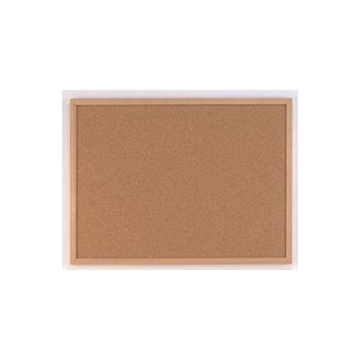 AccoBrands Cork Wall Mounted Bulletin Board