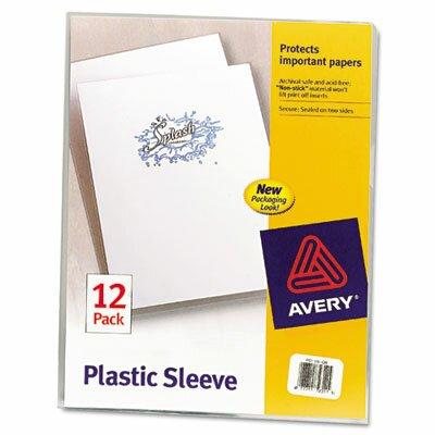 Avery Plastic Sleeves, 12/Pack