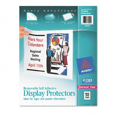 Avery Top-Load Display Sheet Protectors, 10/Pack