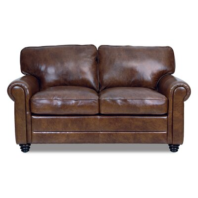 Andrew Loveseat by Luke Leather