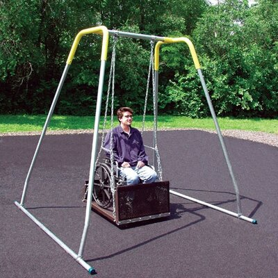 Permanent ADA Swing Seat with Frame Product Photo
