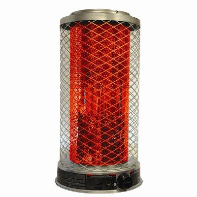 DuraHeat 100,000 BTU Portable Natural Gas Radiant Tower Heater