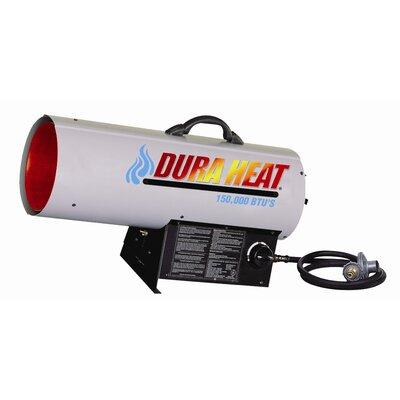 DuraHeat 150,000 BTU Portable Natural Gas Forced Air Utility Heater
