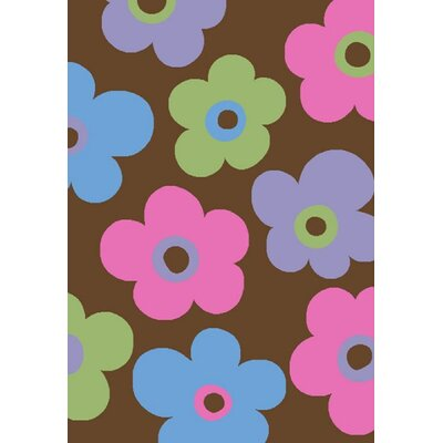 Alisa Ditsy Flowers Kids Rug by Concord