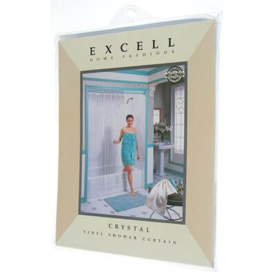 Crystal Vinyl Shower Curtain by Excell