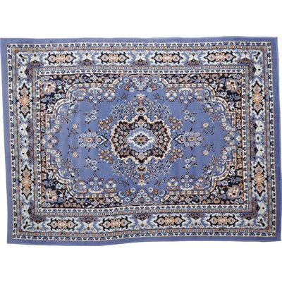 Ariana 3 Piece Country Blue Area Rug Set by Home Dynamix