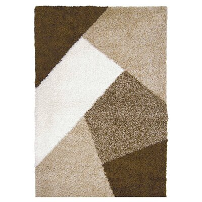Lexington Beige & Brown Area Rug by Home Dynamix