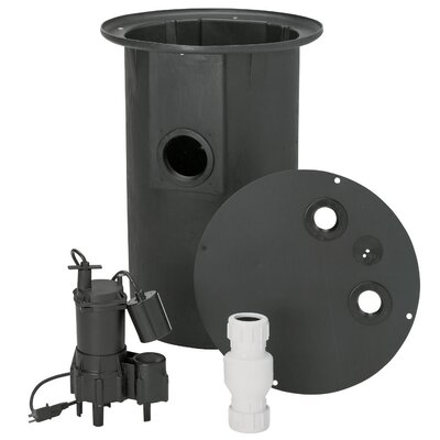 0.4 HP Sewer Pump System by Flotec