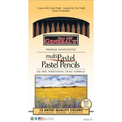General MultiPastel Chalk Pencil