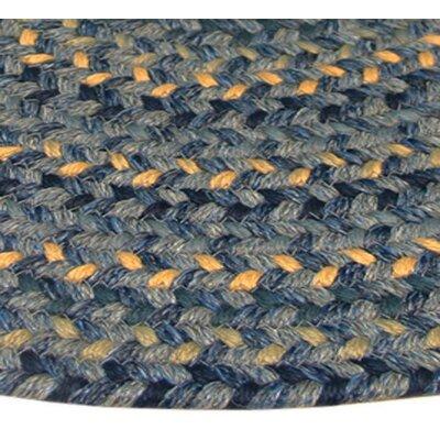 Thorndike Mills Pioneer Valley II Williamsbury Blue Multi Runner Outdoor Rug